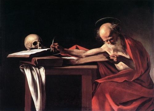 Caravaggio - Saint Jerome2