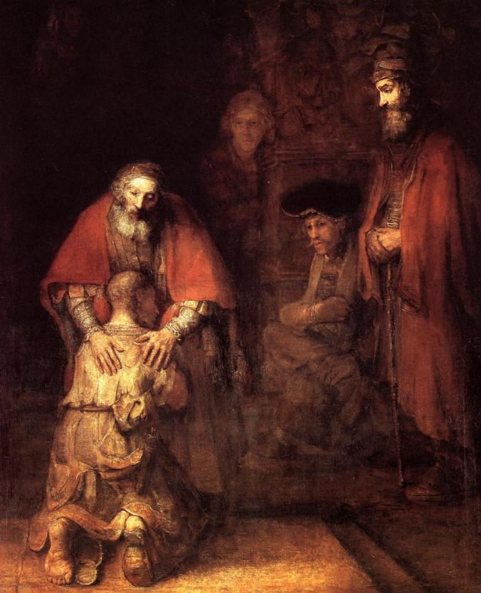 Rembrandt-Return of the Prodigal