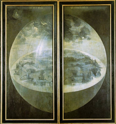 Bosch-Garden-Earthly-Delights-Outer-Wings-Creation-World