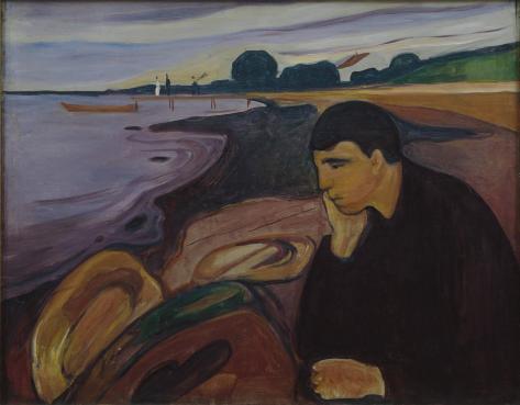 Munch-melancholy