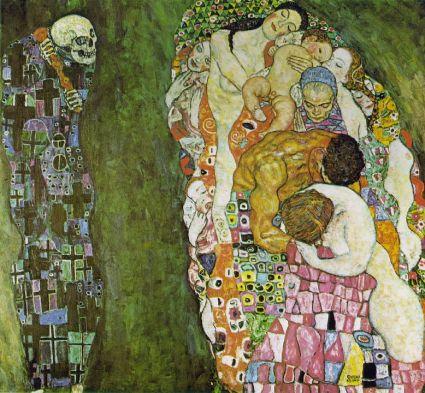 Klimt-Death-Life