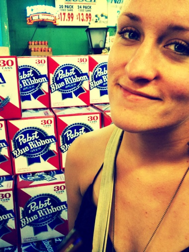My Classy Lady (and some PBR)