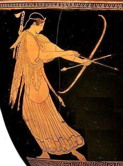 artemis-greek-urn