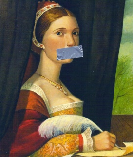 Silencing-Women-duct-tape