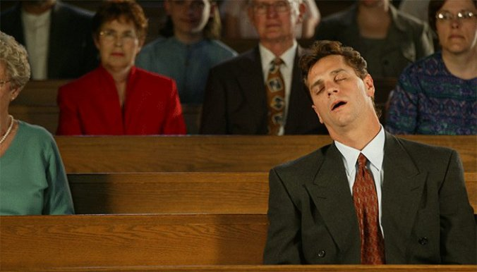 church-sleep-humor