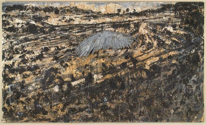 Anselm Kiefer-Landscape with a Wing