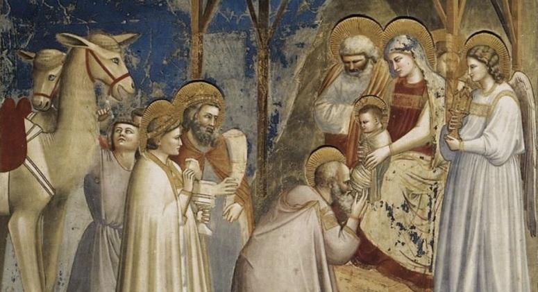GiottodiBondone-Adoration-Magi-icon-advent