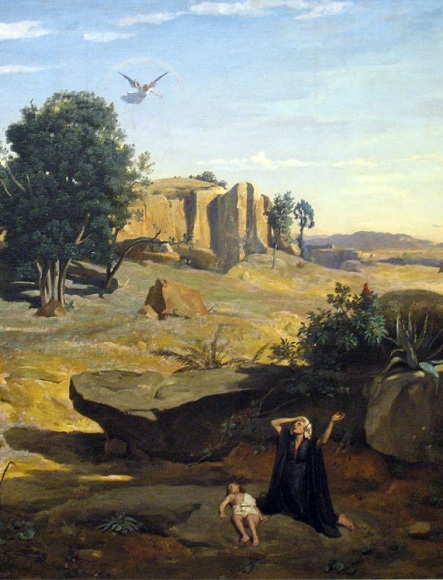 Corot_Hagar_in_the_Wilderness
