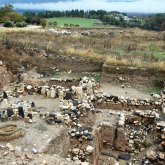 Canaanite Cultic Site (see the stones/idols?)