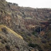 The tallest waterfall in the Golan Heights