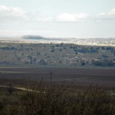 The UN fence along the Syria-Israel border